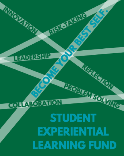 The Student Experiential Learning Fund (SELF) is now accepting proposals for intersession '17 and winter '18 funding! Proposals are due October 20, 2017. Click to apply as an individual or as a group.