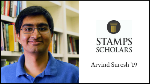 Stamps Scholar Arvind Suresh