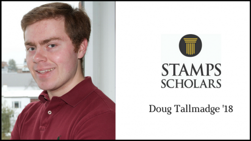 Stamps Scholar Doug Tallmadge