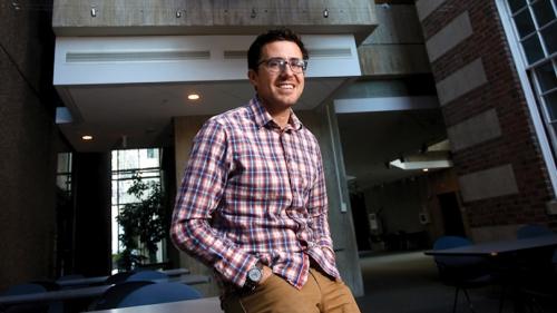 Postdoctoral Fellow Garrett Nelson