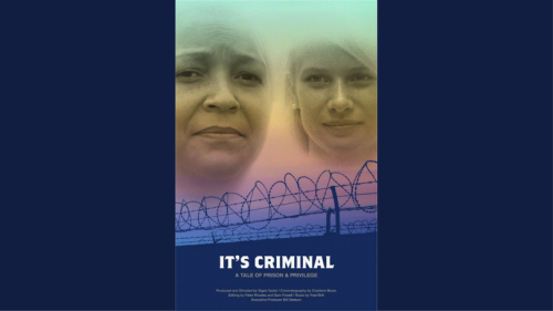 It's Criminal - documentary film poster