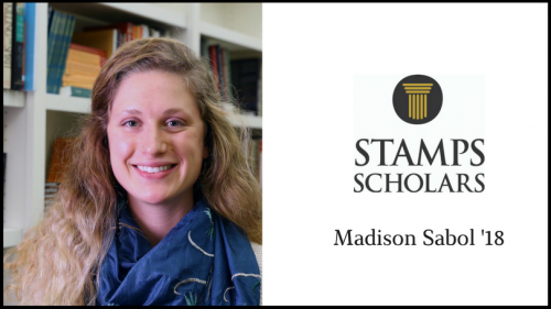 Stamps Scholar Madison Sabol