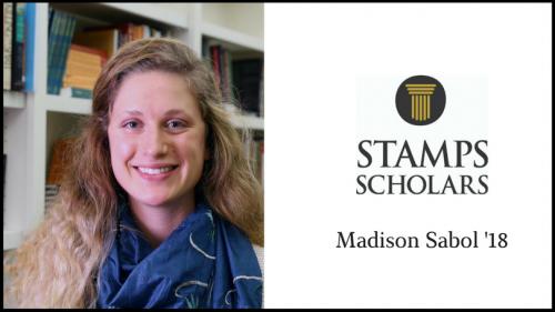 Stamps Scholar Madison Sabol