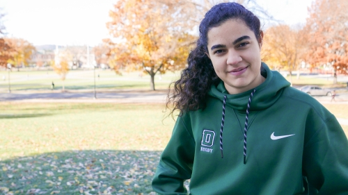Stamps Scholar Saba Nejad '18
