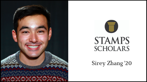 Sirey Zhang '20