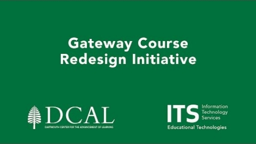 Gateway Course  Redesign Initiative