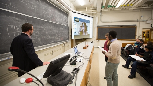 Skype Brings Scientists to Dartmouth Classrooms