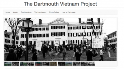 Homepage of the Dartmouth Vietnam Project