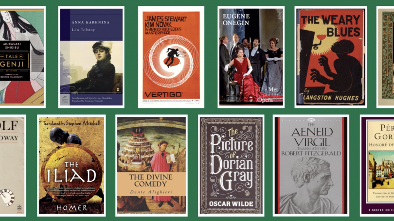 Images of Books Read by the Humanities Sequence