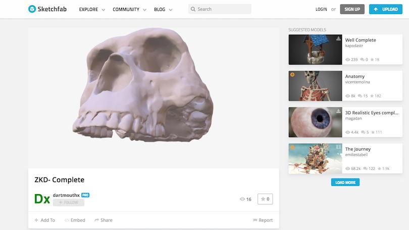 Museum Fossil Online Virtual Tour