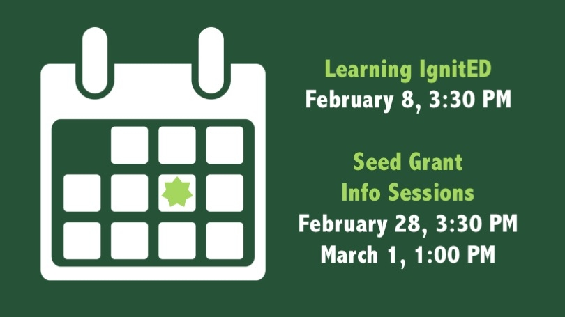 Seed Grant Upcoming Events