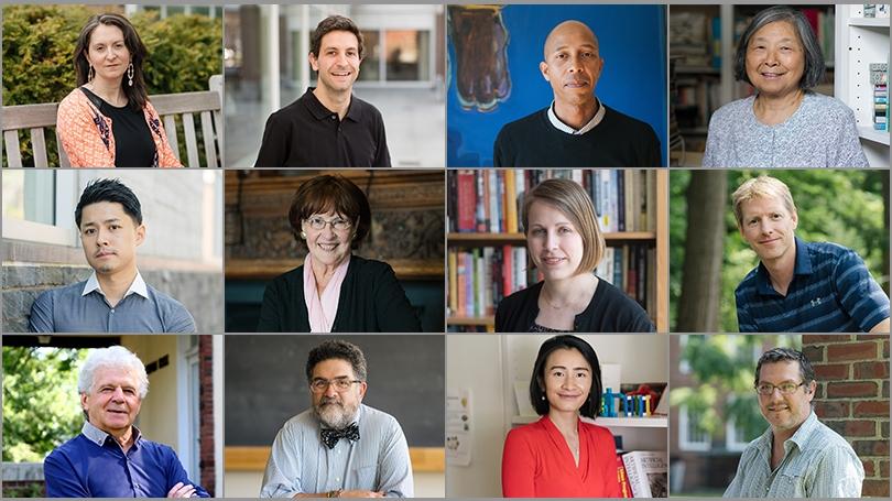 2018 Faculty Awardees